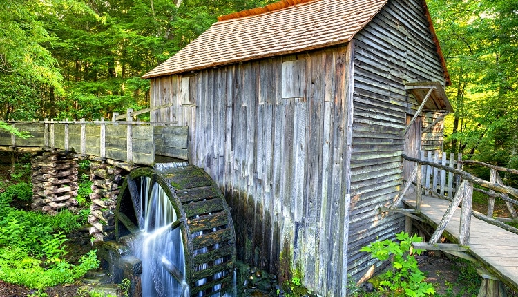 John Cable Grist Mill in Cades Cove