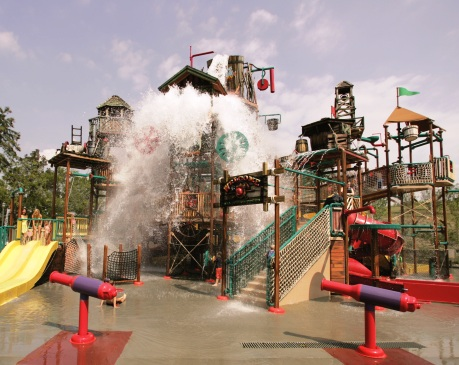 Dollywood's Splash Country in Summer