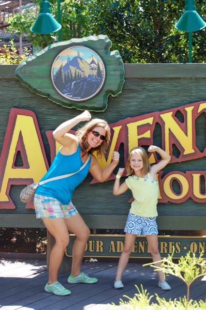 Dollywood Adventure Mountain