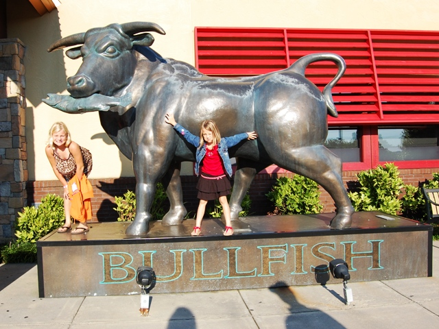 Bullfish Statue
