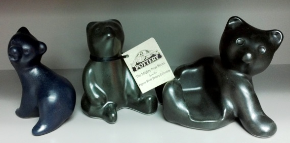 Pigeon River Pottery Bears