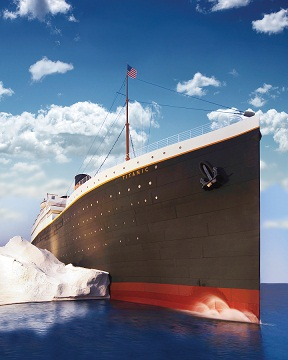 Titanic Attraction in Pigeon Forge