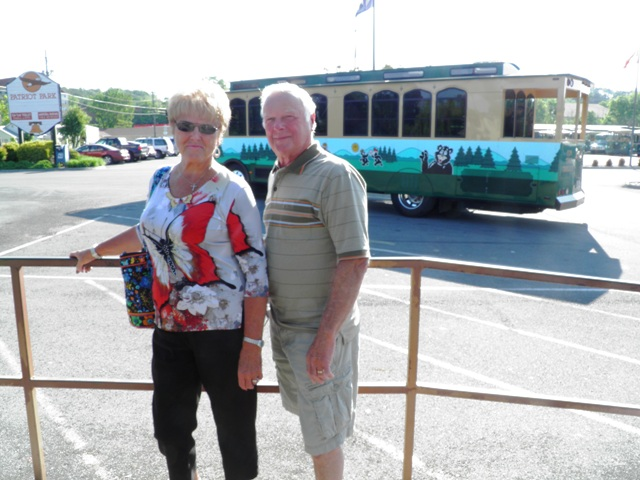 Ken and Sharon Ferris Explore Pigeon Forge