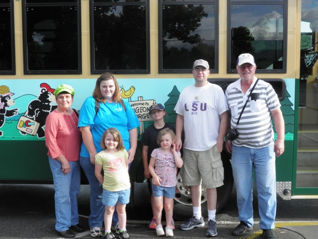 Wittmann Family Visit Pigeon Forge