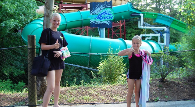 Dollywood's Splash Country RiverRush Water Coaster