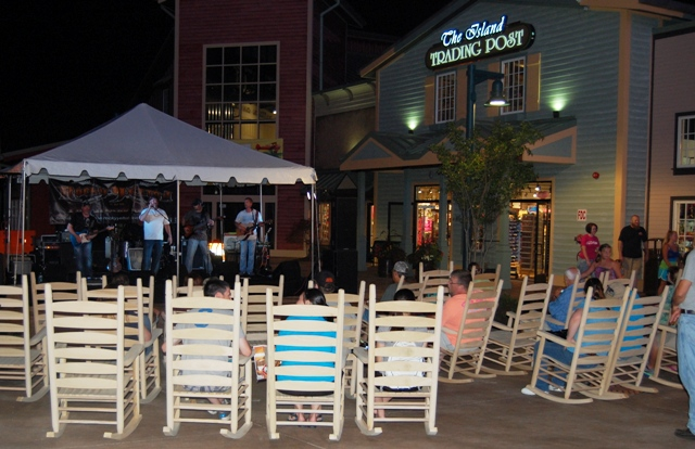 Live Music at the Island in Pigeon Forge