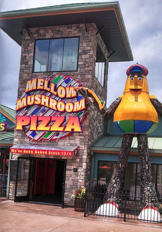 Mellow Mushroom at the Island