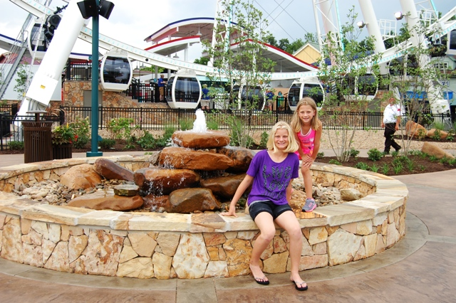 Visit to the Island in Pigeon Forge