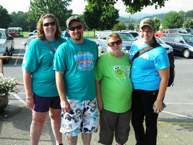 Andleton Family Vacation in Pigeon Forge