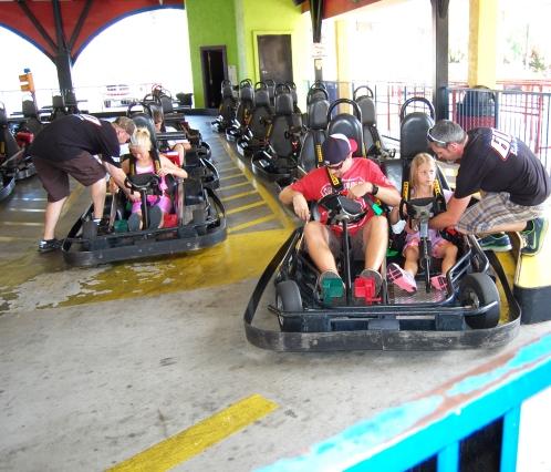 Go Kart Racing at Blakes Jones