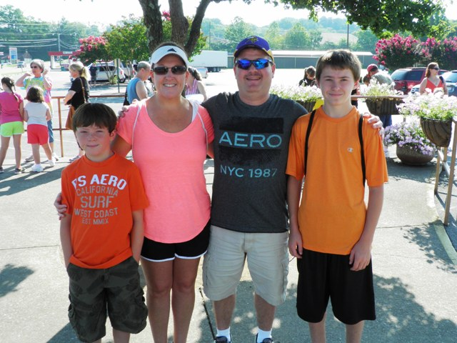 Goodall Family Visiting Pigeon Forge