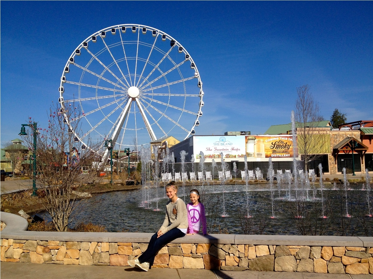 Family on Spring Break in Pigeon Forge