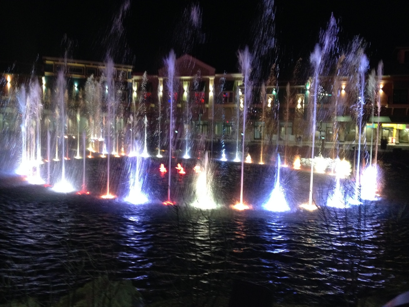 Fountains at The Island in Pigeon Forge