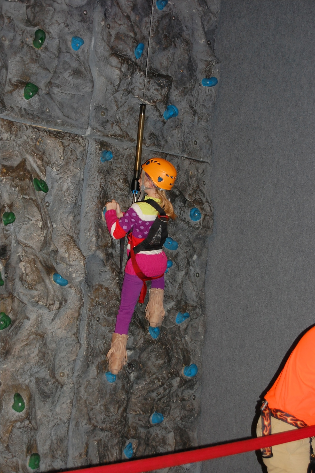 Rock Climbing at WonderWorks in Pigeon Forge