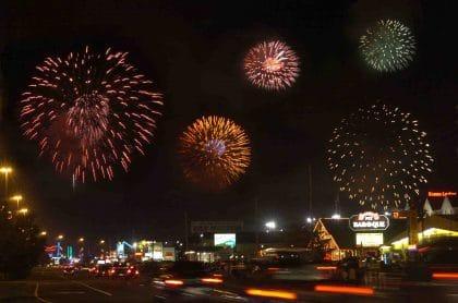Street Scene Fireworks 6-26-2014