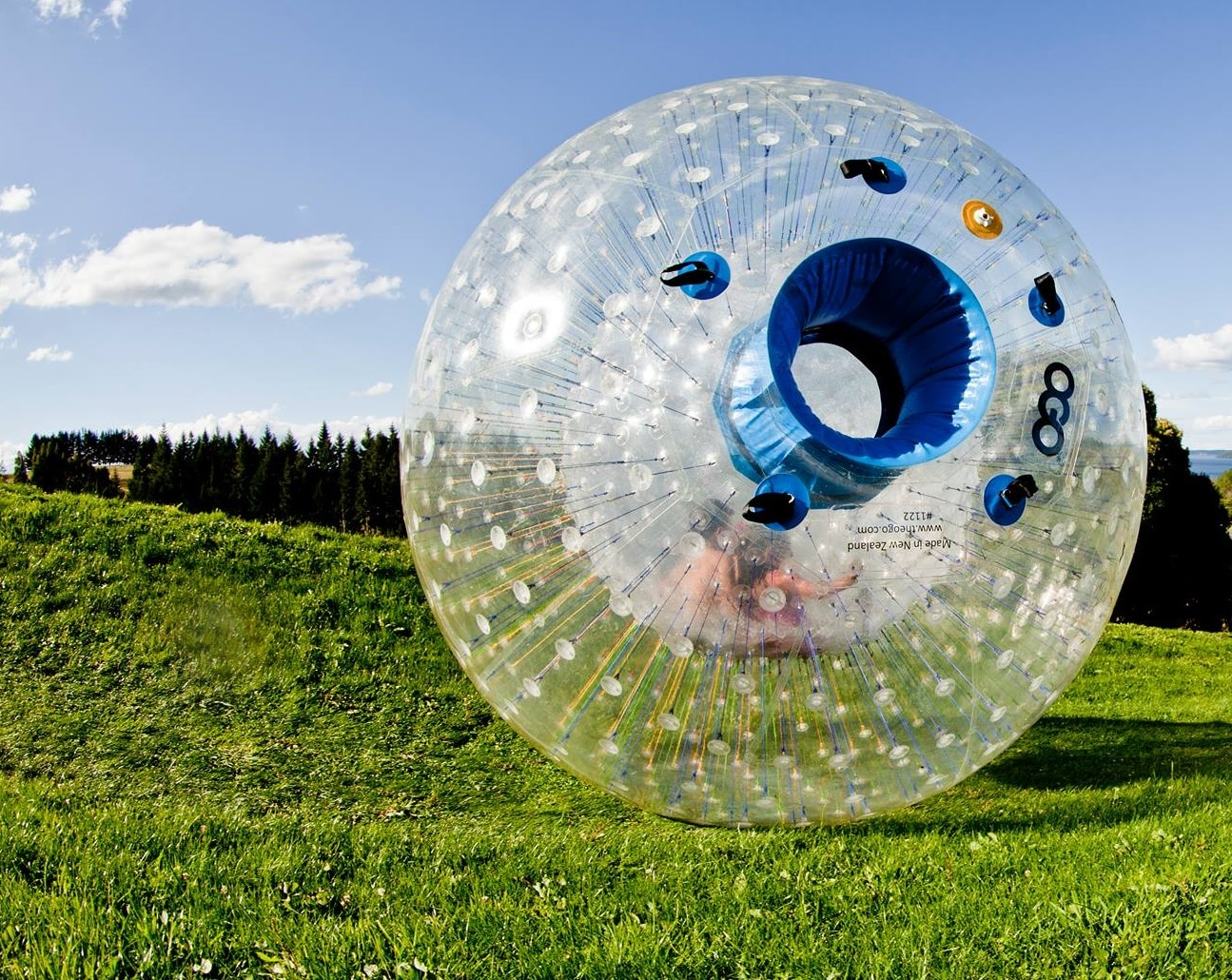 Go Zorbing at the Outdoor Gravity Park in Pigeon Forge