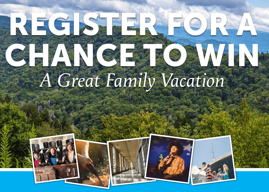 If so, head on over here and get your family registered for the Pigeon Forge  Spring giveaway! This prize package includes 4 tickets to ...