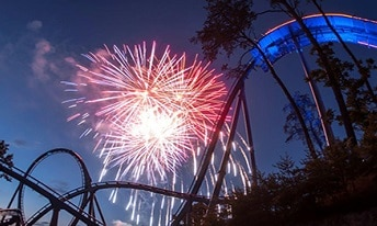 Fireworks at Dollywood this Summer