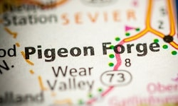 Pigeon Forge Tennessee Map