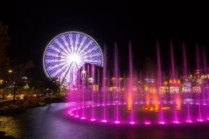 island show fountains