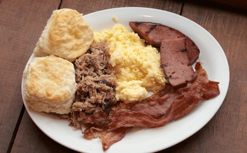 Bennetts BBQ - Breakfast