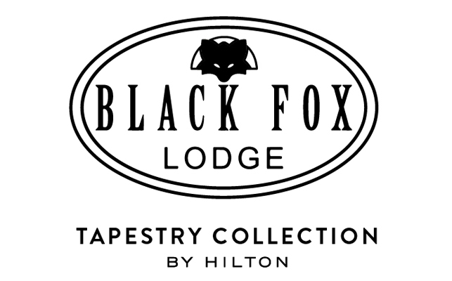 Black Fox Lodge Logo BW