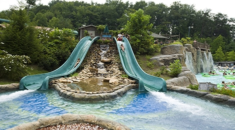 Dollywood Splash Country Water Park in Pigeon Forge, TN Butterlfy Slide