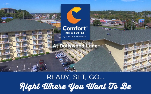 Comfort Inn and Suites Dollywood Lane