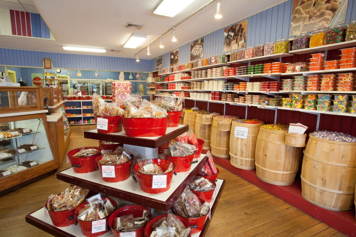 old mill candy kitchen store