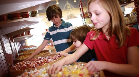 old mill candy kitchen kids pigeon forge