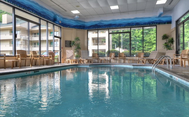 Comfort Inn and Suites Dollywood Lane Indoor Pool