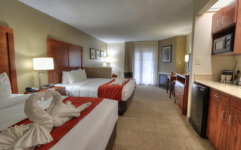 Comfort Inn at Dollywood Lane - Room