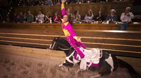 Stunt Rider at Dolly Parton's Stampede