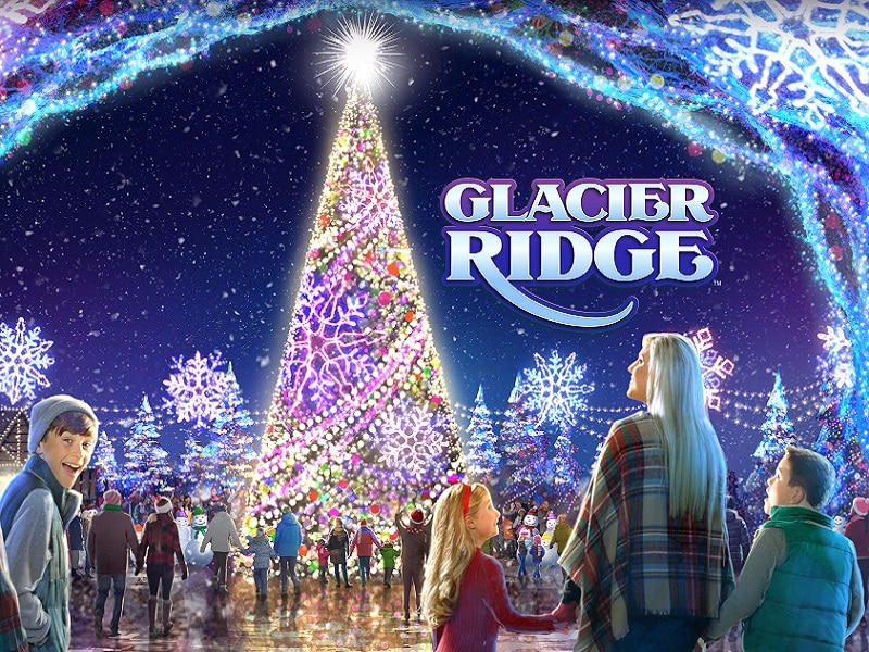 Glacier Ridge at Dollywood in Pigeon Forge TN