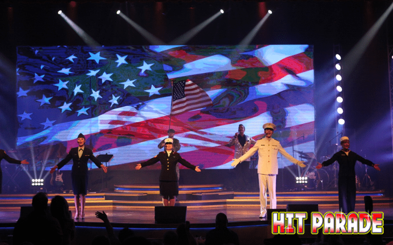 Patriotic Performance at Hit Parade - Grand Majestic Theater in Pigeon Forge, TN