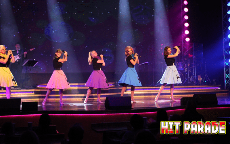 Singers at Hit Parade - Grand Majestic Theater in Pigeon Forge, TN