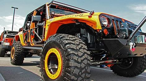 Jeep Invasion Smoky Mountains