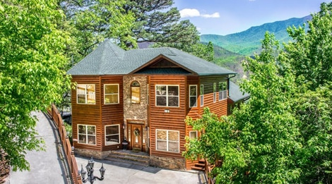 King of the Mountain - Natural Retreats Great Smoky Mountains