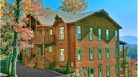 Large Cabin Rentals and HearthSide Cabin Rentals main