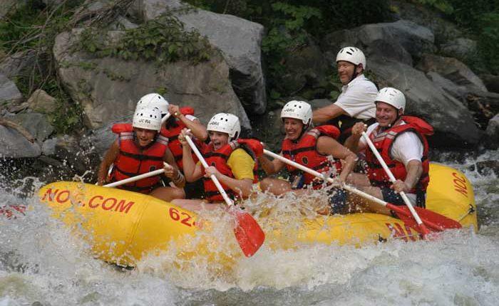 NOC Whitewater Rafting