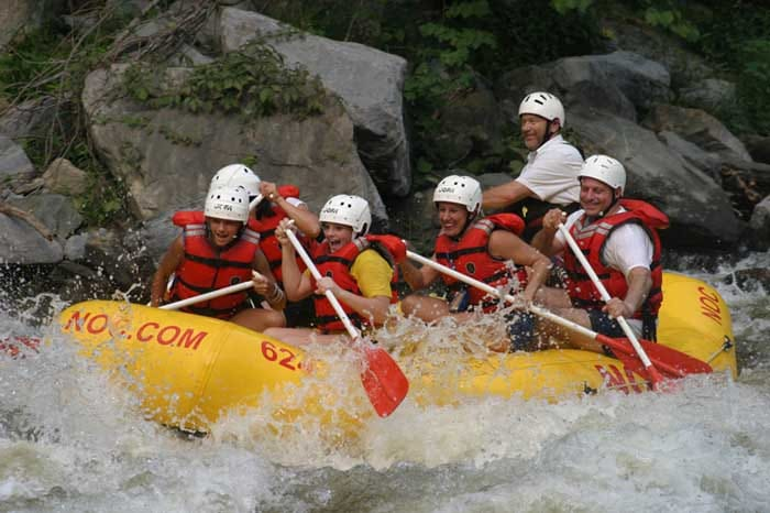 Whitewater Rafting in Pigeon Forge TN