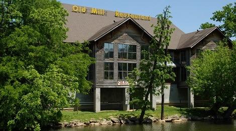 old mill restaurant building