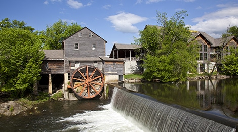 Old Mill river