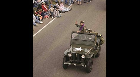 Veterans Parade Pigeon Forge TN