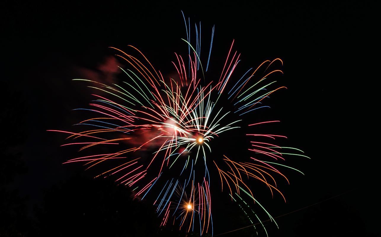 Patriot Festival - Fireworks 1286x800