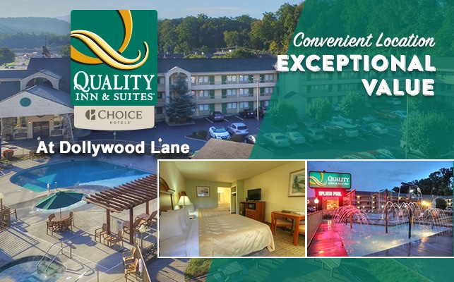 Quality Inn and Suites at Dollywood Lane
