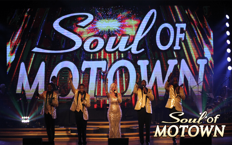 Performance at Soul of Motown - Grand Majestic Theater in Pigeon Forge, TN