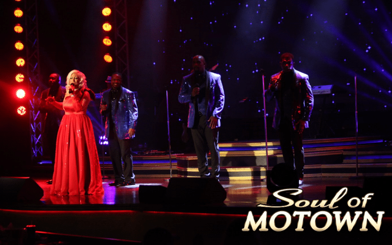Singer at Soul of Motown - Grand Majestic Theater in Pigeon Forge, TN