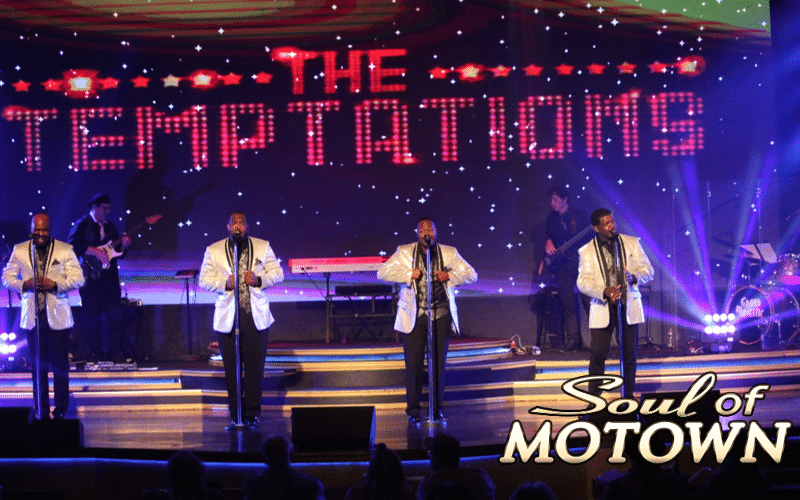 Temptations performing at Soul of Motown - Grand Majestic Theater in Pigeon Forge, TN