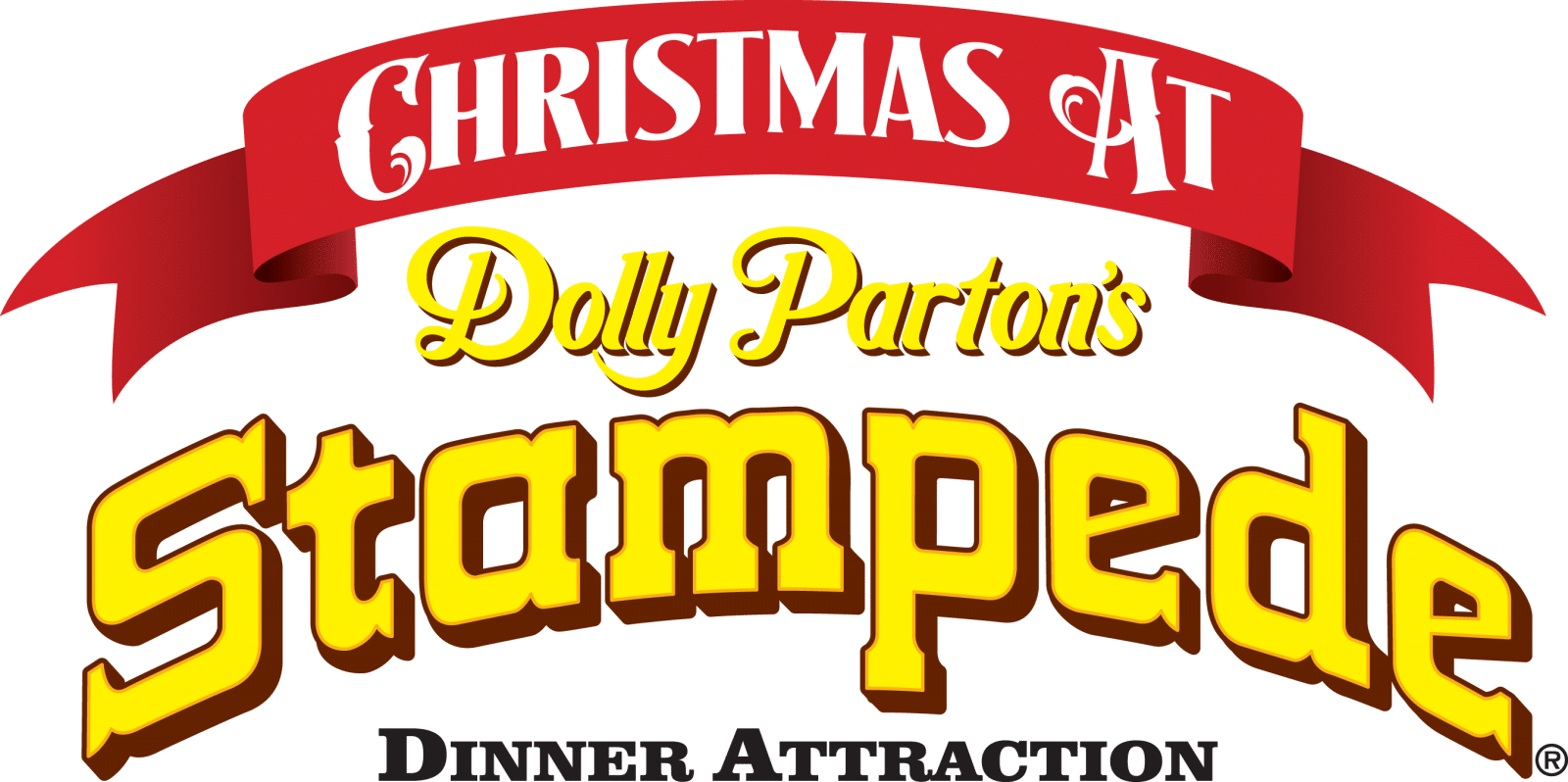 Stampede Christmas Logo My Pigeon Forge